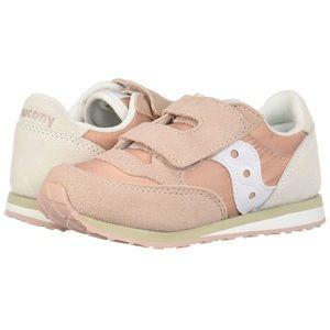 Saucony Baby Jazz Hl, Pink/Cream, Size 9.5